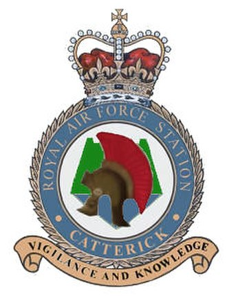 RAF Catterick - Image: RAF Catterick badge
