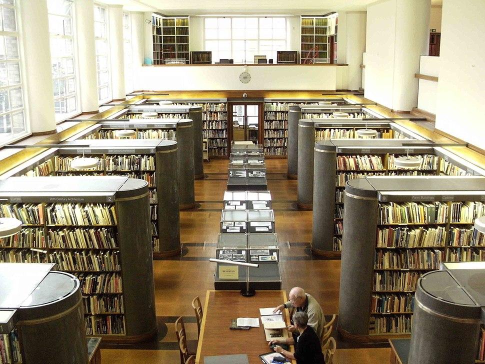 RIBA LibraryInterior
