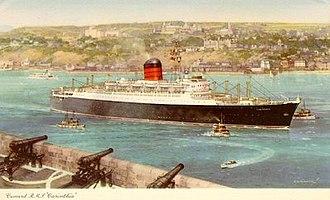 RMS Carinthia (1955) - Image: RMS Carinthia (1956)