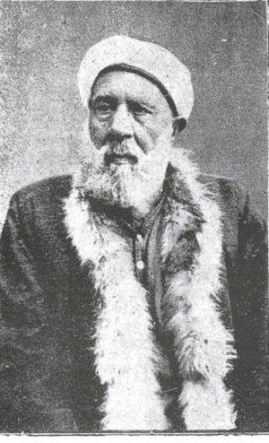 Fehim Čurčić - Fehim Čurčić's father Ragib pictured in 1888 shortly before his death