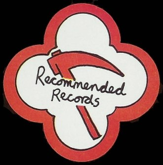Recommended Records - Recommended Records logo, 1979.