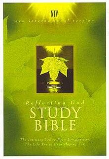 <i>Reflecting God Study Bible</i>