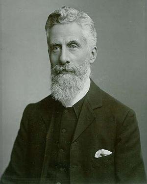 Hugh Pembroke Vowles - Reverend Henry Hayes Vowles, father of William Hugh Pembroke Vowles. Photograph taken in Guernsey in about 1900