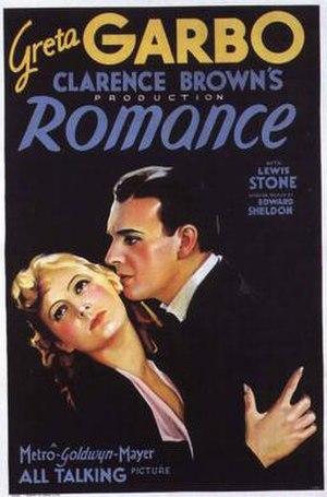 Romance (1930 film) - Image: Romance (1930 film)