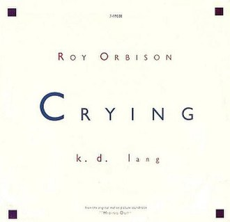 Crying (Roy Orbison song) - Image: Roy Orbison Kdlang Crying