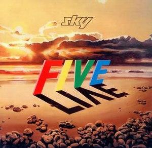 Sky Five Live - Image: SKY Five Live Album