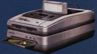 Super NES CD-ROM - SNES-CD add-on prototype concept art