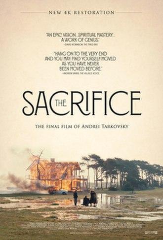 The Sacrifice - British film poster