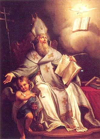 Isaac of Armenia - Catholicos Sahak Partev, by Francesco Maggiotto