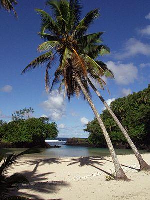 Vavau, Samoa - Vavau beach