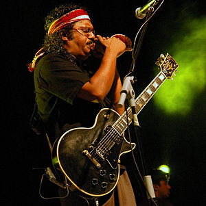 """Music of the Maldives - Nashid performing at the Zero Degree Atoll reunion show """"Sound of a Nation"""" at Alimas Carnival in Male'."""