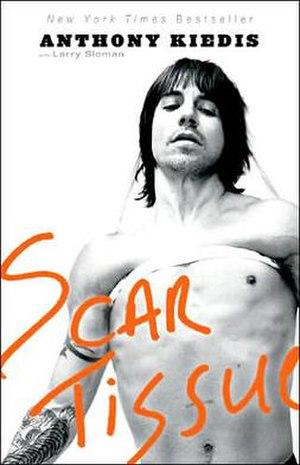 Scar Tissue (book) - Image: Scartissuebook
