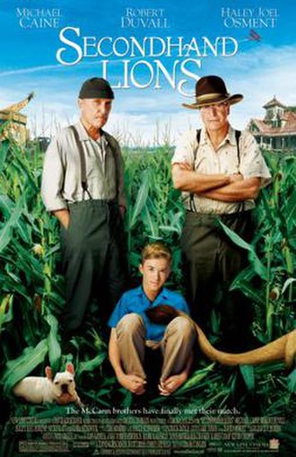 Secondhand Lions - Theatrical Release Poster