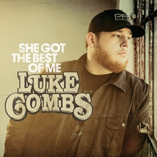 Color photograph of Luke Combs