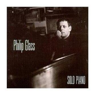 Solo Piano (Philip Glass album) - Image: Solo Piano Glass