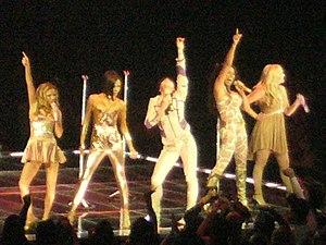 Spice girls pose