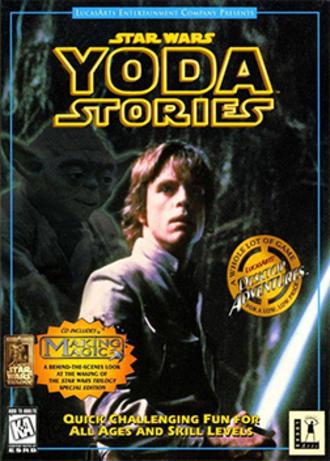 Star Wars: Yoda Stories - Cover art