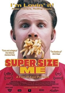 Image result for super size me poster
