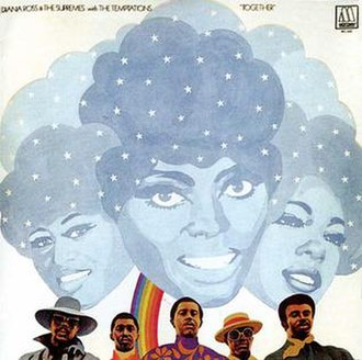 Together (The Supremes and The Temptations album) - Image: Supremes tempts together