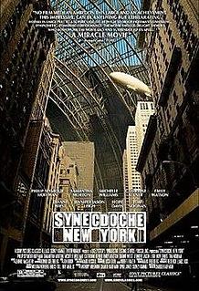 <i>Synecdoche, New York</i> 2008 film by Charlie Kaufman