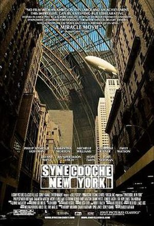 Synecdoche, New York - Theatrical release poster