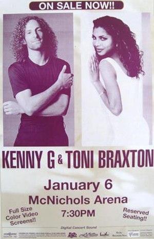 Secrets Tour - Image: T Braxton 1997Tour Poster