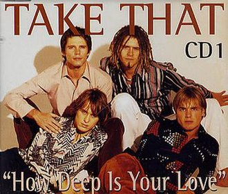 How Deep Is Your Love (Bee Gees song) - Image: Take that how deep is your love CD1