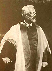 Tchaikovsky at Cambridge, 1893.