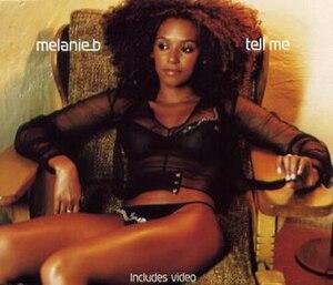 Tell Me (Mel B song) - Image: Tellmecover