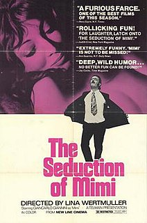 <i>The Seduction of Mimi</i> 1972 film by Lina Wertmüller