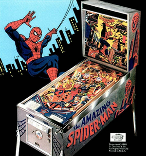 The Amazing Spider-Man (pinball) - Image: The Amazing Spider Man Pinball Flyer