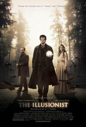 The Illusionist (2006 film) - Theatrical release poster