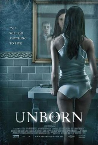 The Unborn (2009 film) - Internationally release poster
