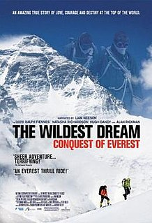<i>The Wildest Dream</i> 2010 film by Anthony Geffen