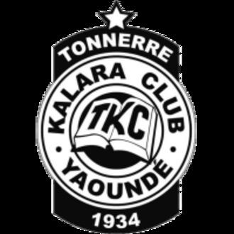Tonnerre Yaoundé - Image: Tonnere Youndé Logo