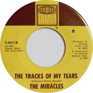 The Tracks of My Tears - Image: Tracks of my tears