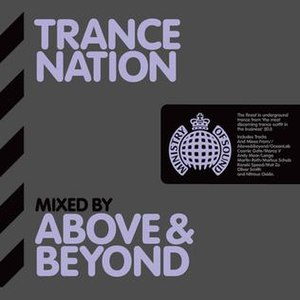 Trance Nation – Mixed by Above & Beyond - Image: Trance Nation Mixed By Above & Beyond
