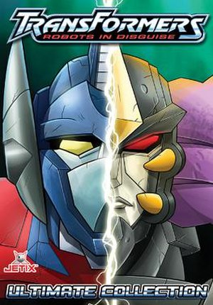 Transformers: Robots in Disguise (2001 TV series) - Image: Transformers Robots in Disguise DVD cover art
