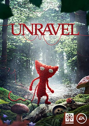 Unravel (video game) - Image: Unravel cover art