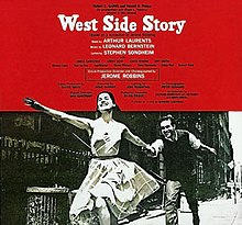 West Side Story album cover