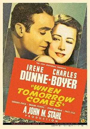 When Tomorrow Comes (film) - Image: When Tomorrow Comes poster