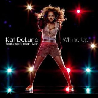 Kat DeLuna featuring Elephant Man — Whine Up (studio acapella)