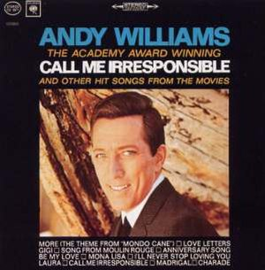 "The Academy Award-Winning ""Call Me Irresponsible"" and Other Hit Songs from the Movies - Image: Williams Call 2"