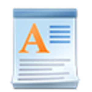 WordPad - Image: Wordpad icon (Windows 7)