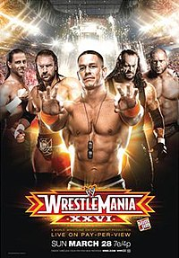 WRESTLEMANIA XXVI - Wikipedia, the free encyclopedia