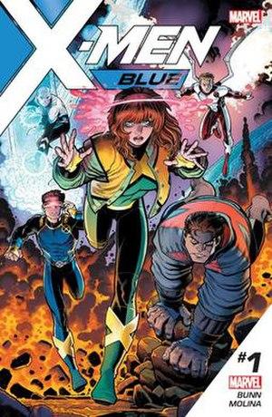 X-Men Blue - Image: X Men Blue