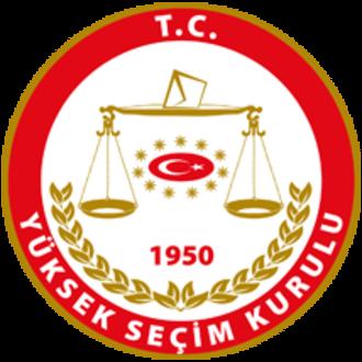Supreme Electoral Council of Turkey - Image: Yüksek Seçim Kurulu