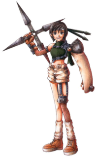 Yuffie Kisaragi Character in Final Fantasy
