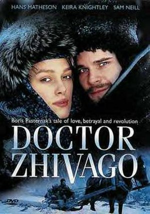 Doctor Zhivago (miniseries) - DVD cover