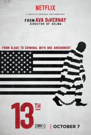 13th (film) - Digital release poster